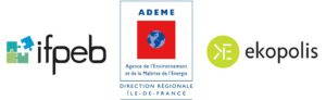 Logos ADEME-IFPEB-EKOPOLIS